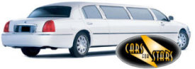 Limo Hire Baxley - Cars for Stars (Southend) offering white, silver, black and vanilla white limos for hire